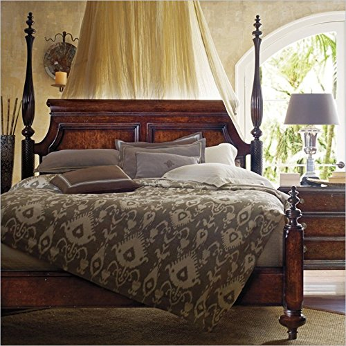 British Colonial Poster Bed front-996305
