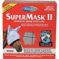SuperMask II Classic Horse Fly Mask With Ears-CLASSIC FLYMASK W/EARS