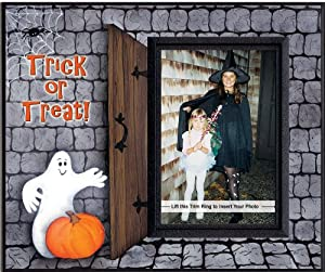 Trick or Treat Halloween Picture Frame Gift by Expressly Yours!
