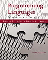 Programming Languages: Principles and Practices, 3rd edition Front Cover