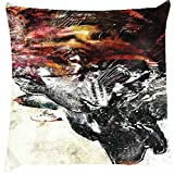 Snoogg Attackers Cushion Cover Throw Pillows 16 X 16 Inch