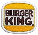 Burger King DIY Embroidered Sew Iron on Patch