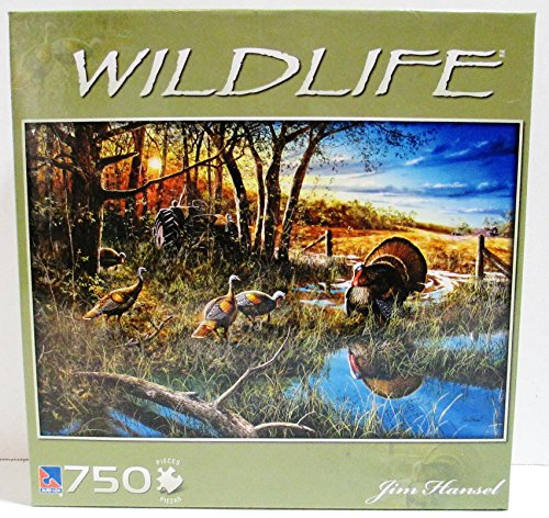 Wildlife by Jim Hansel 750 piece puzzle