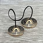 """Om Nama Shiva"" Tingsha Cymbals 2.5""-..."