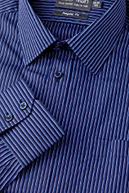 Pure Cotton Easy Iron Striped Shirt