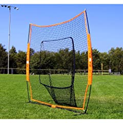 Bownet Baseball Softball Big Mouth Portable Net by Bow Net