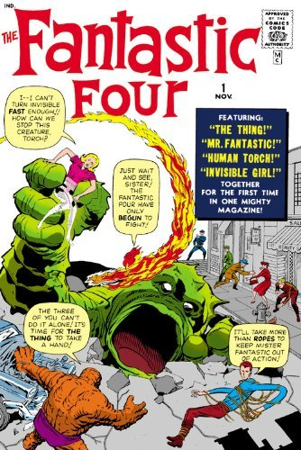 Fantastic Four Omnibus Volume 1 (New Printing) by Stan Lee (15-Oct-2013) Hardcover