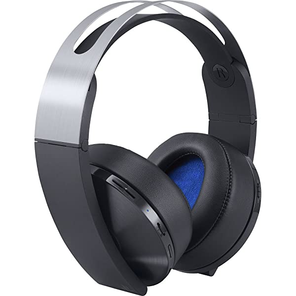 Sony PlayStation Platinum Wireless Headset 7.1 Surround Sound PS4 (Color: Platinum Headset)