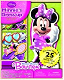 Artistic Studios Disney Minnie Mouse Wooden Magnetic Playset, 25-Piece