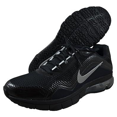 hot sales f79bb 9ad36 Amazon.com  Mens Nike Air Max TR 180 Training Shoe Black Black Metallic  Silver Reflect Silver Size 9  Shoes