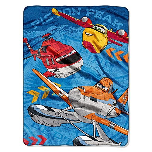 "Disney's Planes ""Rescue Crew"" Micro Raschel Throw - 45""x60"" - 1"