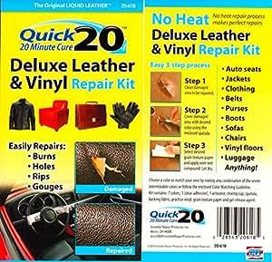 Quick 20 Leather Amp Vinyl Repair Kit Mends Tears Cuts