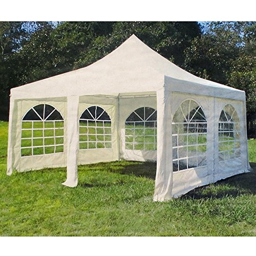 spitzpavillon deluxe gazebo 4 x 4 m pagode pagodenzelt pavillon partyzelt bierzelt gartenzelt. Black Bedroom Furniture Sets. Home Design Ideas