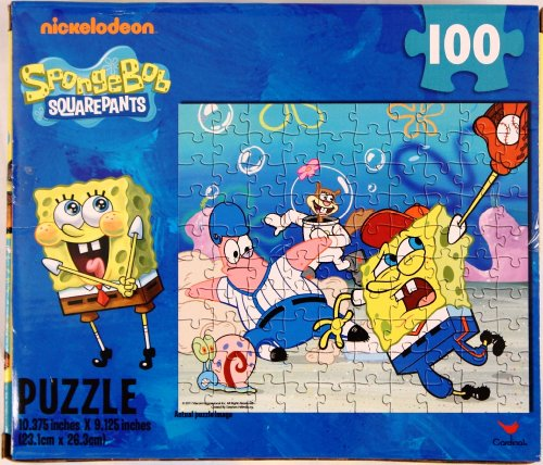 100 Piece SpongeBob Squarepants (Baseball) Puzzle