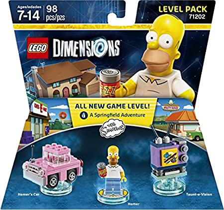 Warner Home Video - Games LEGO Dimensions, Simpsons Level Pack