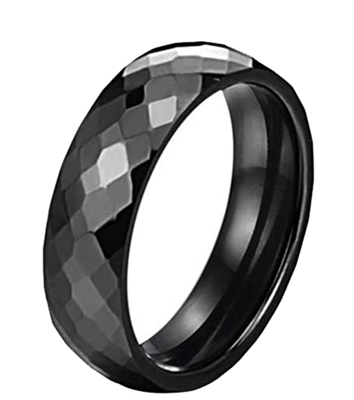 Generic Women's Scaling Wedding Ring Size 10 Color Black