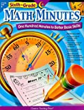 ISBN 9781591984306 product image for Sixth Grade Math Minutes | upcitemdb.com