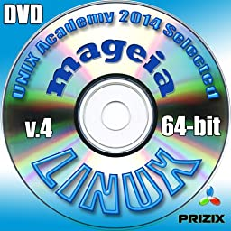 Mageia 4 Linux DVD 64-bit Full Installation Includes Complimentary UNIX Academy Evaluation Exam
