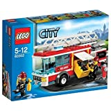 Lego City 60002 Emergency Fire Truck With Firefighters Firemen +Accessories 5-12 Good Gift To Your Lovely Fast...