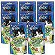 Felix Party Mix Friandises pour chat Campagnarde 60 g - Lot de 8