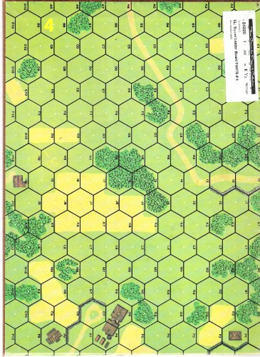 MMP: SL Squad Leader Unmounted Mapboard # 4 - 1
