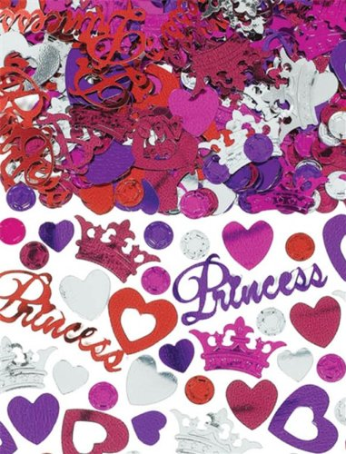 Amscan Pretty Princess Metallic 2 1/2 ounces of Confetti - 1