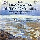 ブラガ・サントス:交響曲第1番, 第5番