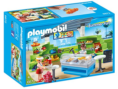 PLAYMOBIL Splish Splash Cafe Playset