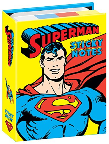 DC Comics Superman Sticky Notes Booklet - By The Unemployed Philosophers Guild