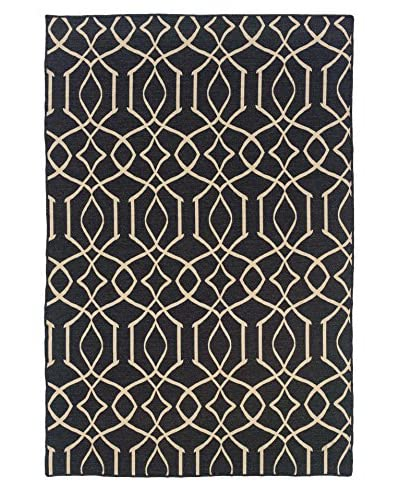 Linon Home D 233 Cor Links Wave Rug Ownmodern Com