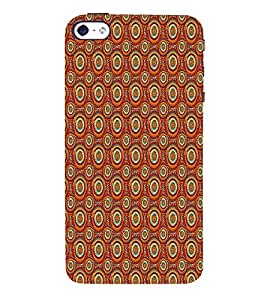 Circle Abstract 3D Hard Polycarbonate Designer Back Case Cover for Apple iPhone 5