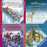 Ravensburger Mini-Bilderspaß 44 - Winterzeit, Weihnachtszeit (4er-Set)
