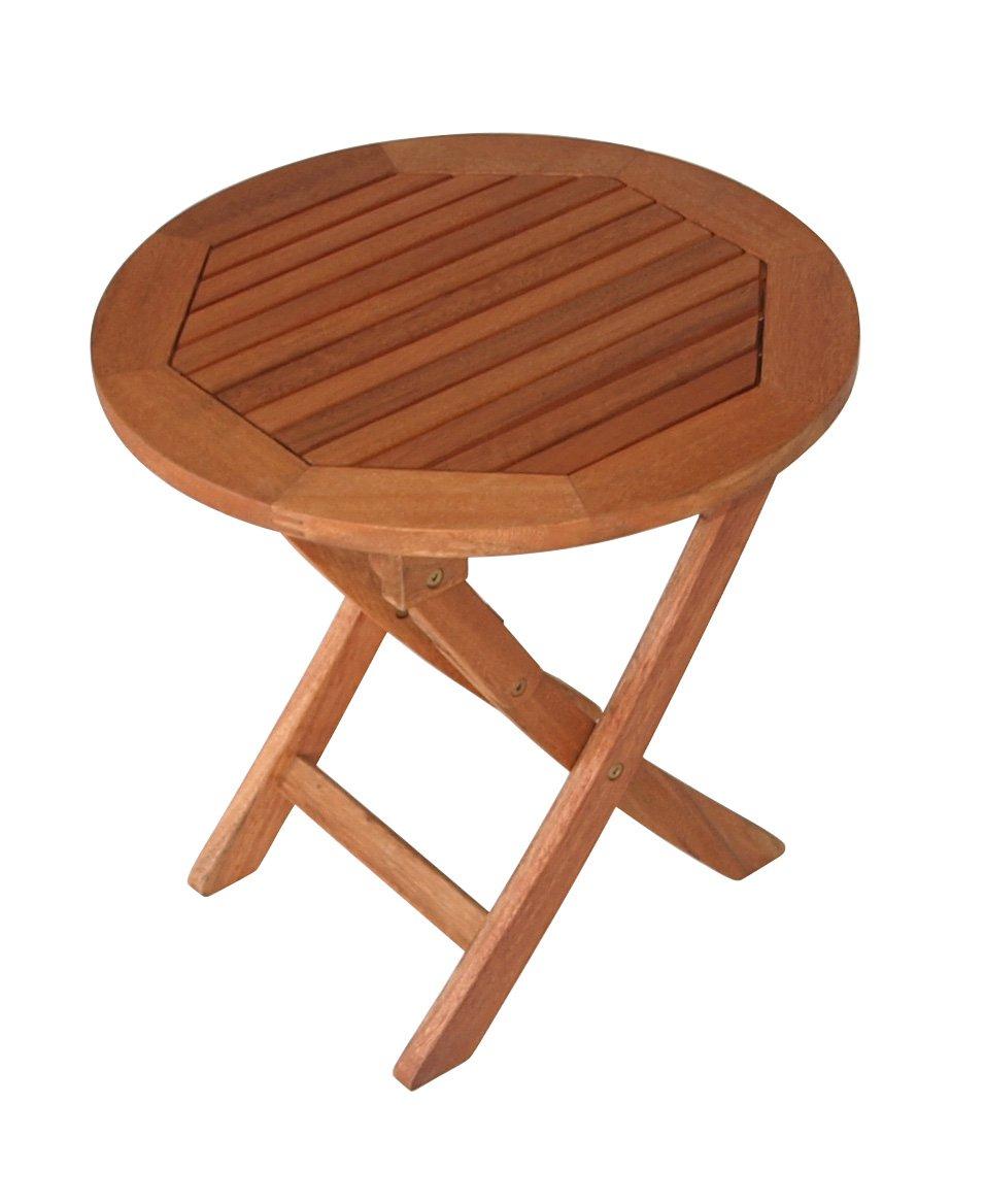 beistelltisch aus eukalyptusholz klappbar 48cm fsc zertifiziert online kaufen. Black Bedroom Furniture Sets. Home Design Ideas