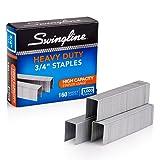 Swingline Staples, Heavy Duty, 3/4