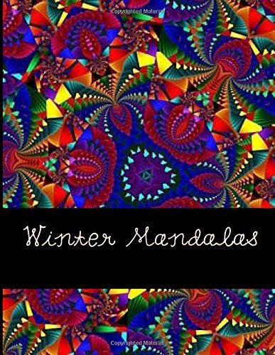 NEW Winter Mandalas Christmas Coloring Book For Adults