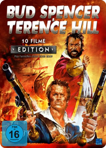 Bud Spencer & Terence Hill - 10 Filme Edition - Metal-Pack [4 DVDs]