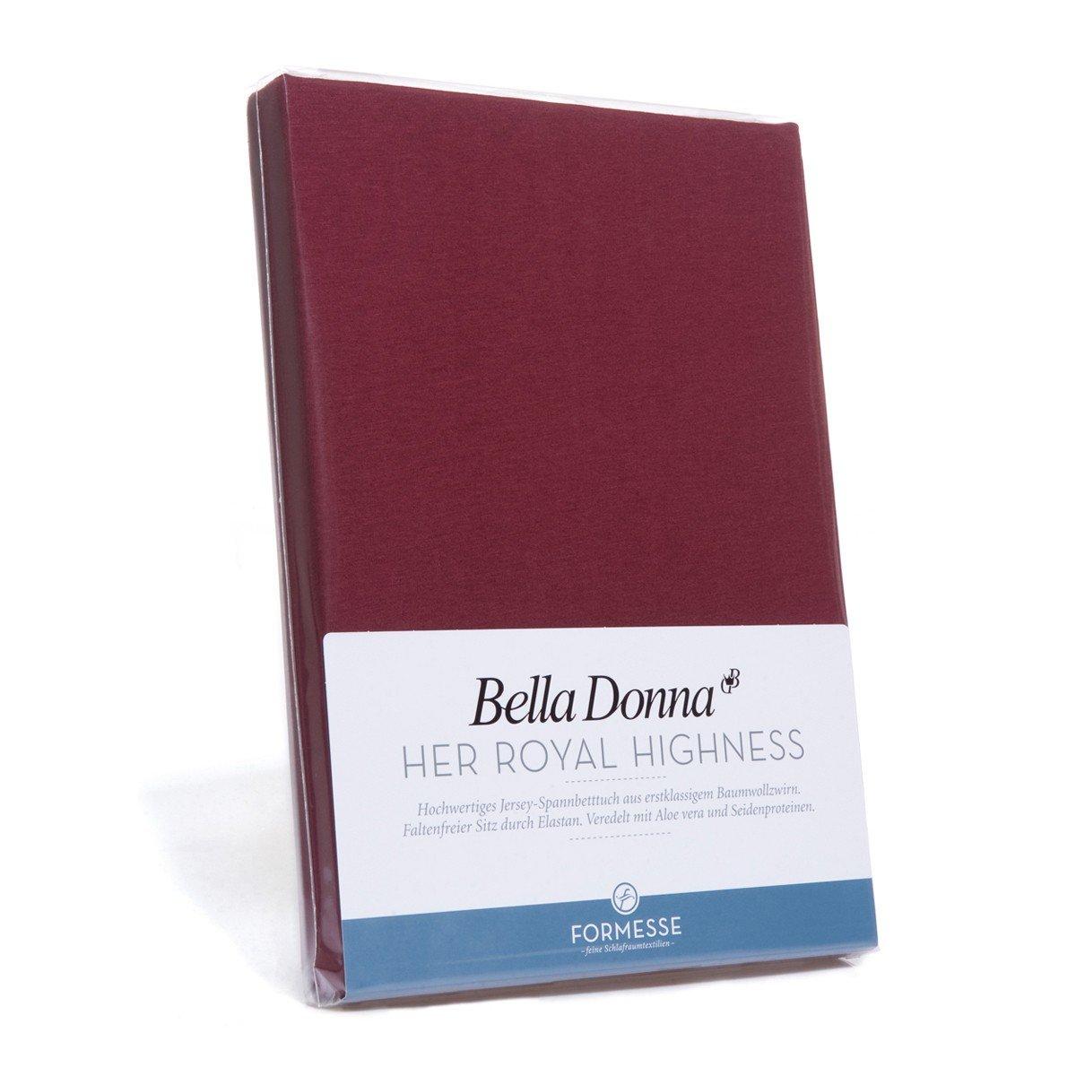 Bella-Donna Bella-Donna Jersey Spannbettlaken weiss, 180×200 – 200×220 cm günstig kaufen