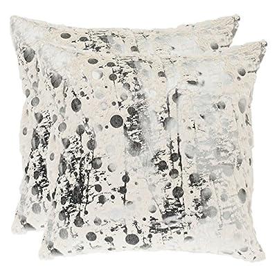 Safavieh Pillow Collection 18-Inch Modern Art Pillow