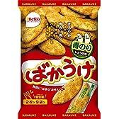 栗山米菓 ばかうけ青のり 18枚×12個