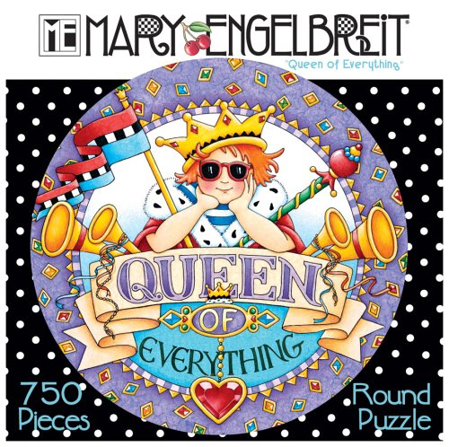 750 Piece Mary Englebreit Puzzle - Queen of Everything