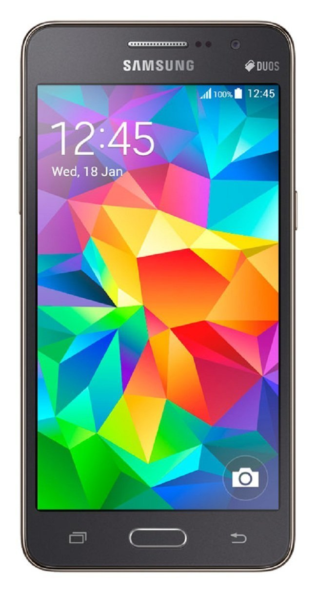Samsung Galaxy Grand Prime DUOS 8GB Factory Unlocked GSM Smartphone -International Version- Gray
