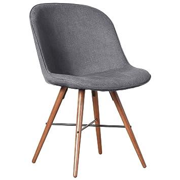 Esszimmerstuhl Grau Stuhl Stühle Küchenstühle Essgruppe:Küche ...