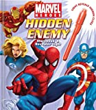 Marvel Heroes Hidden Enemy Storybook and Revealer Light