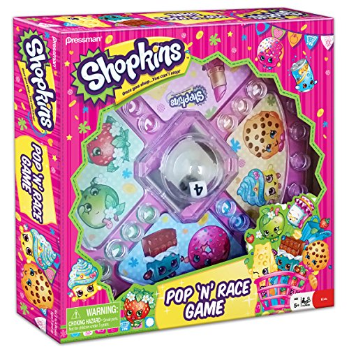 Shopkins Pop 'N' Race Game -- Classic Game with Shopkins Theme - 1