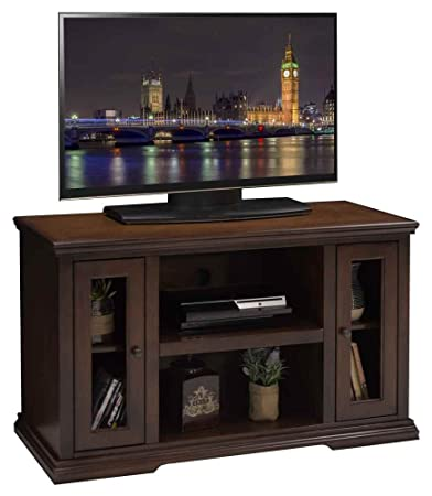 43.75 in. TV Cabinet in Danish Cherry Finish
