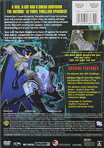 The Batman - Season 1, Vol. 2 - The Man Who Would Be Bat (DC Comics Kids Collection) at Gotham City Store