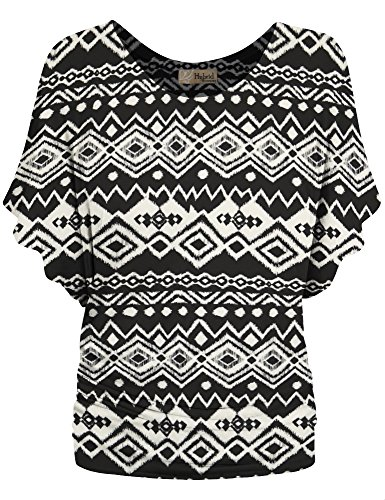 HyBrid-Company-Womens-Super-Comfy-Boat-Neck-Dolman-Top-Shirt