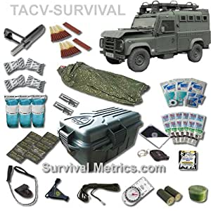 Tactical Vehicle / Automobile / RV Survival and Medical Kit - Compact