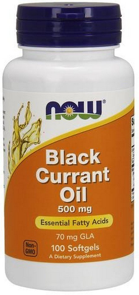 Black Currant Oil 500mg Soft-gels, 100-Count