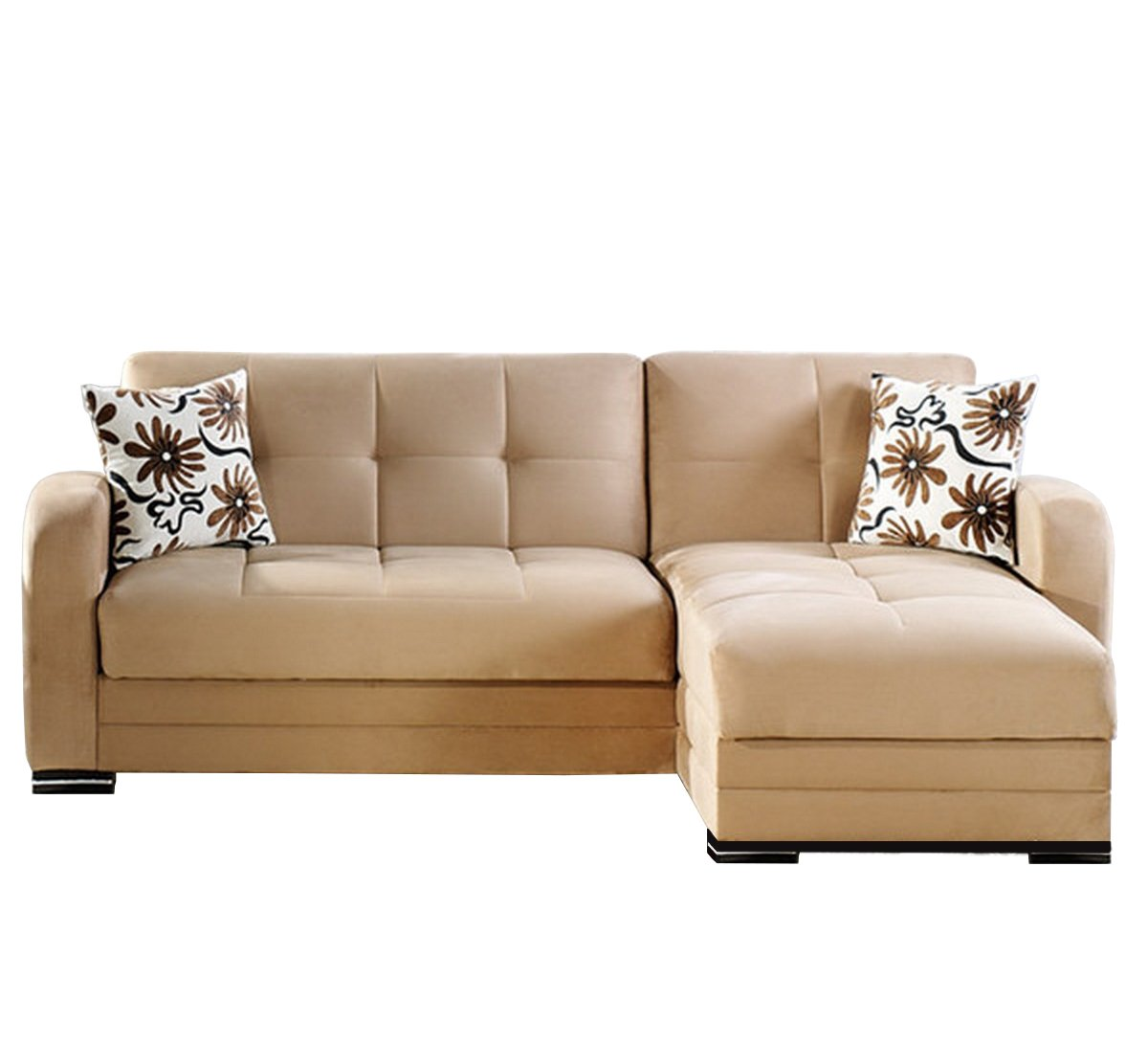 Kubo Rainbow Dark Beige Sectional Sofa